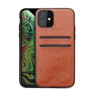 Apple iPhone Faux Leder Hülle mit Kartenhalter Case Cover Hllen