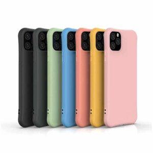 Apple iPhone Silikon Schutz Hülle Cover
