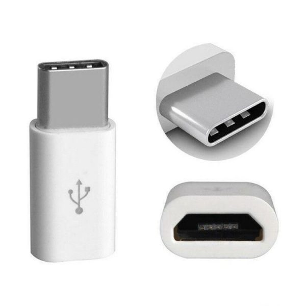 Micro USB zu USB Type C Adapter Stecker