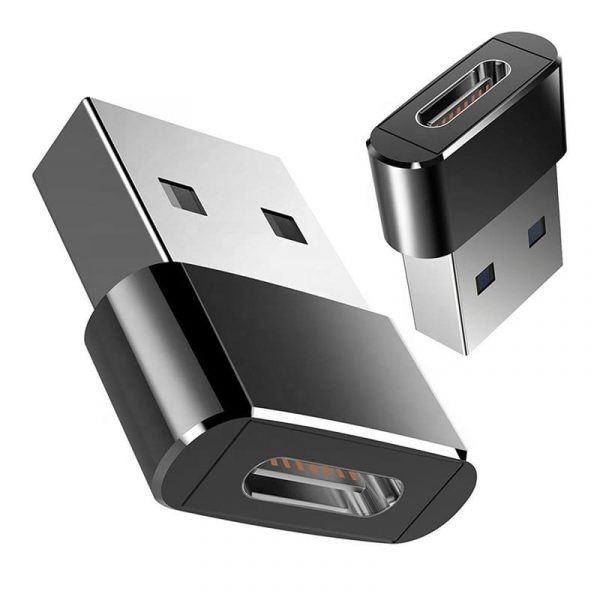 Adapter vom Neuen USB Typ C auf den Herkömmlichen USB A